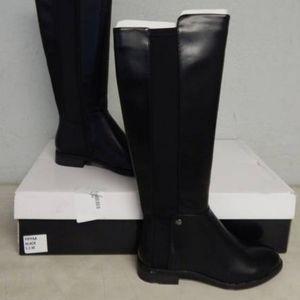Alfani black riding boot
